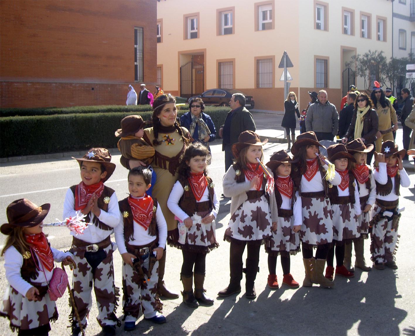 Pasacalles carnaval 2013
